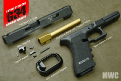 "MWC T-Style JW2 G34 ""Steel"" Combat Set DX for Marui G-Series"